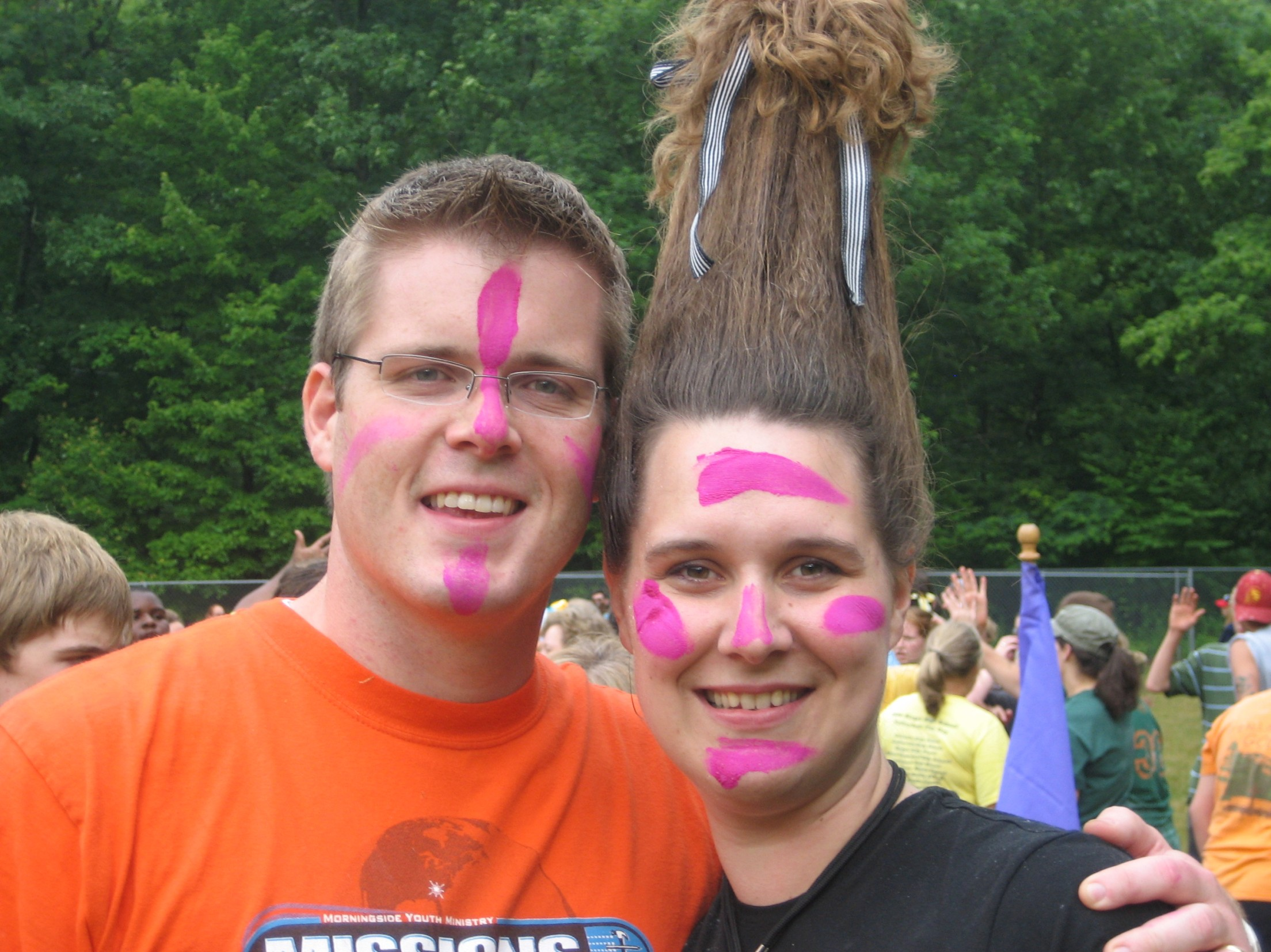 Ashley and Nathan at Fuge '07
