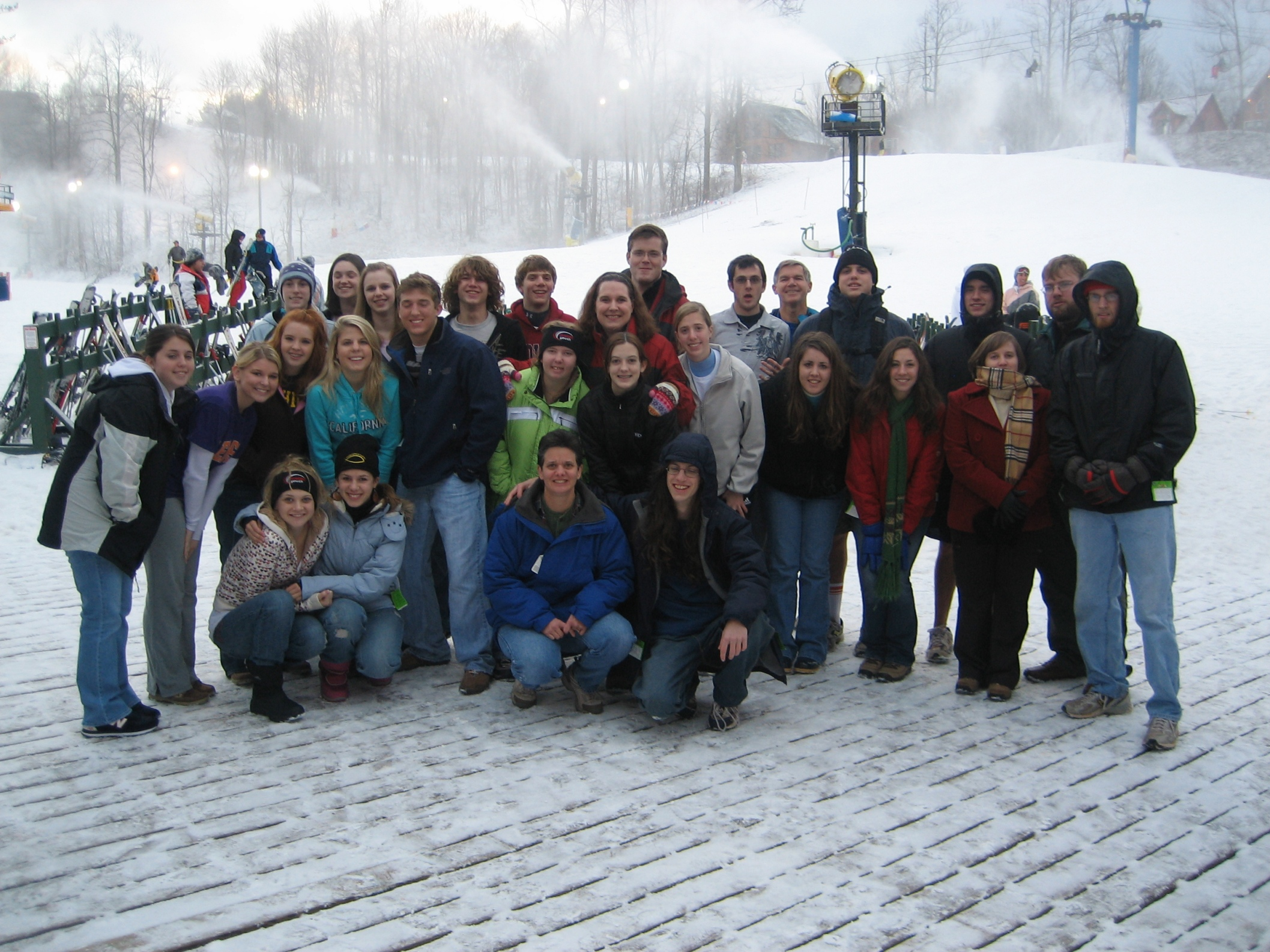 Group Picture at Winterplace
