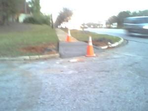 Curb Upgrade on Pine Street