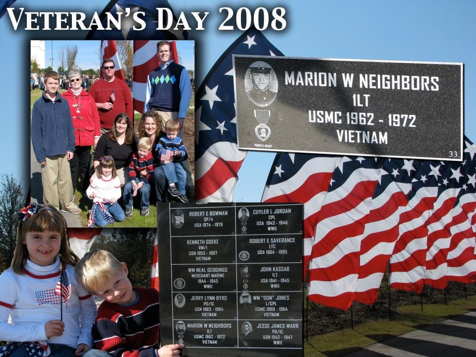 Veteran's Day 2008