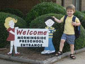 Ellis' first day of school 8-26-09 006