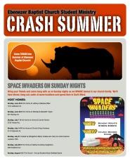Summer 2013 CRASH Brochure