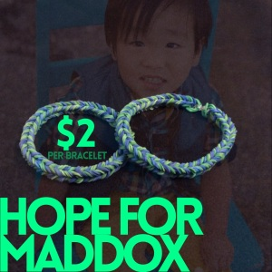 Hope for Maddox Bracelets